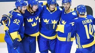 швеция  Северная Америка 3:4 Видео обзор матча и все голы 21.09.2016 Кубок Мира по хоккею 2016