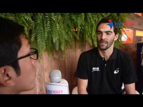 Giba nos cuenta sobre sus nuevos proyectos con la FIVB