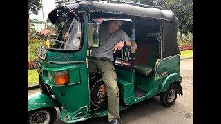 Путешествие на поезде по Шри Ланке. Вожу ТУК-ТУК