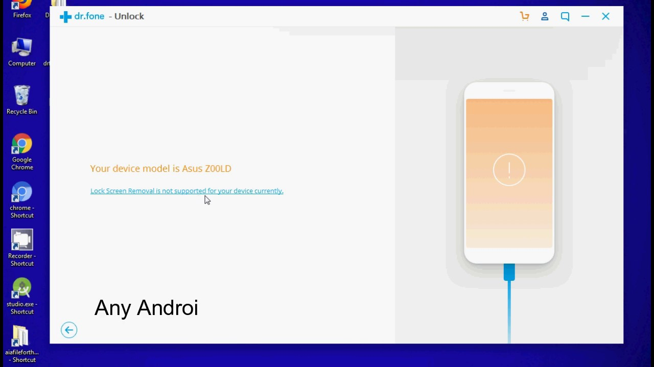 dr fone unlock android for pc