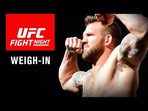 Fight Night Sao Paulo: Official Weigh-In
