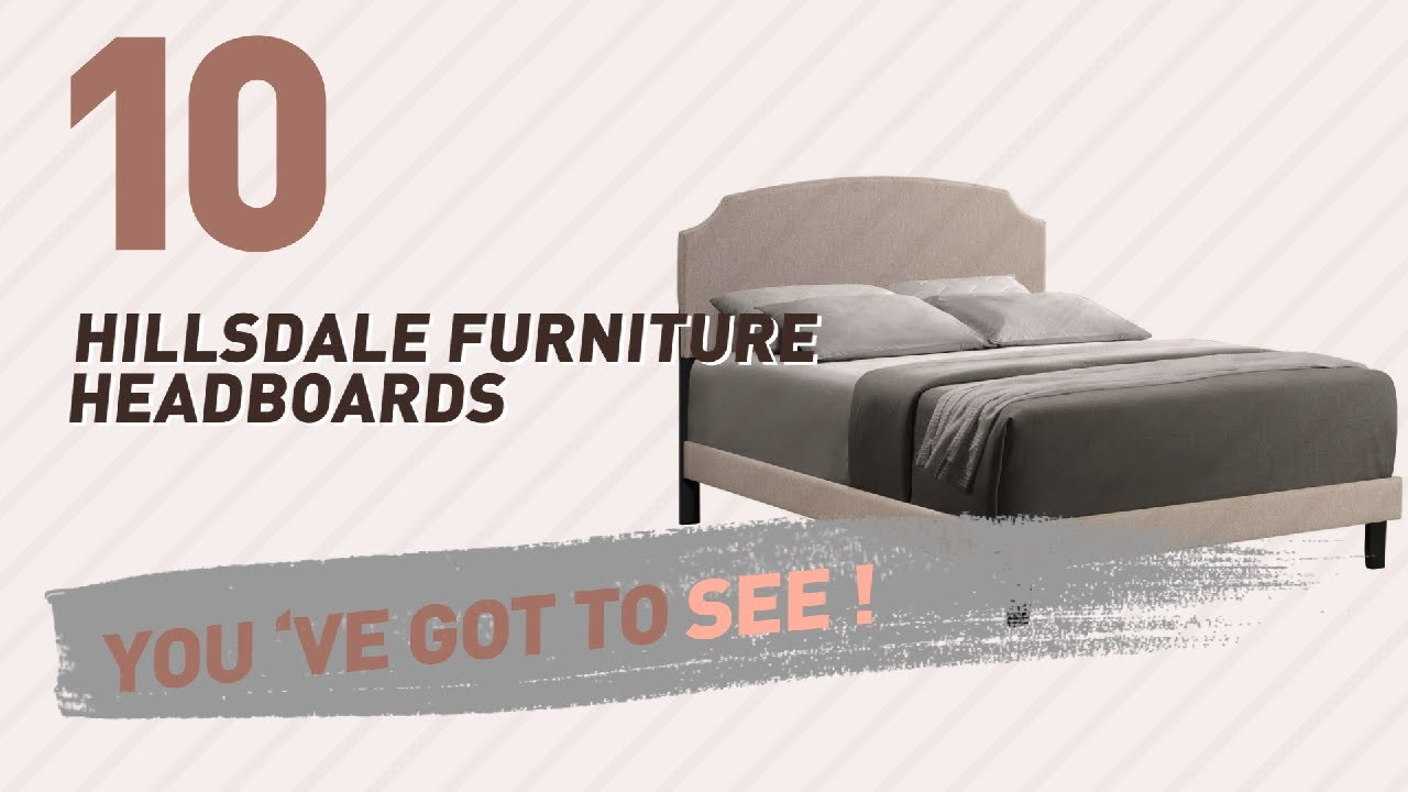 hot sale online 9dbba 1eaf4 Hillsdale Furniture Headboards // New & Popular 2017