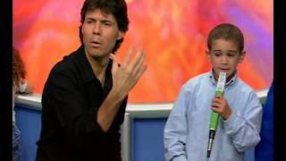 """El show de los chicos, Ezequiel canta """"Fanfarrón"""" - Videomatch"""
