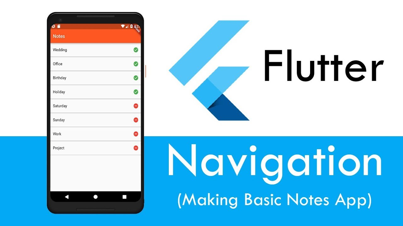 Flutter - Navigation & Routes (Basics)