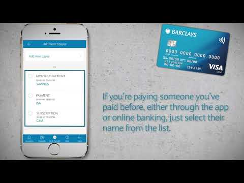 The Barclays App | How To Make Payments