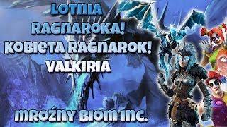 RAGNAROKA'S LOTNIA! FROSTY BIOM IS COMING? RAGNAROKA GALL AND NEW SKINS. FORTNITE PRESENTATION