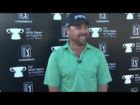 Brady Schnell interview after Round 3 of the 112th VISA Open de Argentina