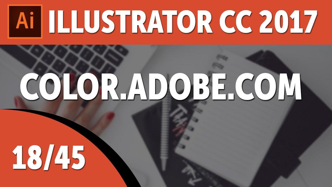 Color.Adobe.com - Adobe Illustrator CC 2017 Course [18/45]