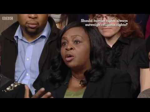 Should human rights always outweigh religious rights? (The Big Questions, 12/1/14)