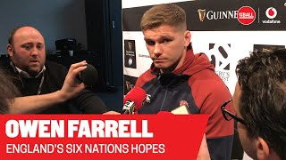 Owen Farrell | The England captain on the upcoming Six Nations