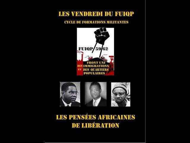 FUIQP cours n°1 Les pensées africaines de la libération