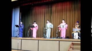 沖縄民謡トーク&ライブより 2015年09月26日.