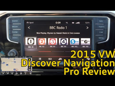 Volkswagen 2015 Discover Pro Navigation System Review