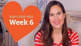 6 Week Old Baby - Your Baby's Development, Week by Week