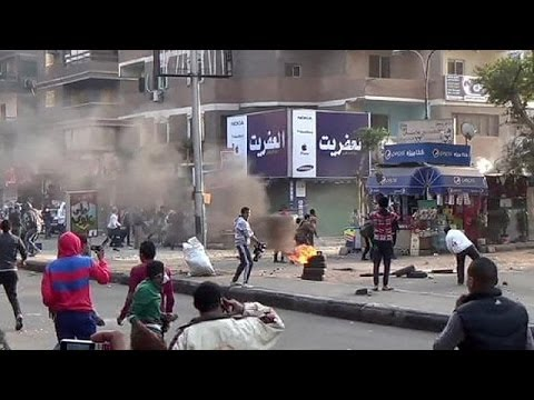 Deadly clashes in Egypt as state crackdown against protesters widens