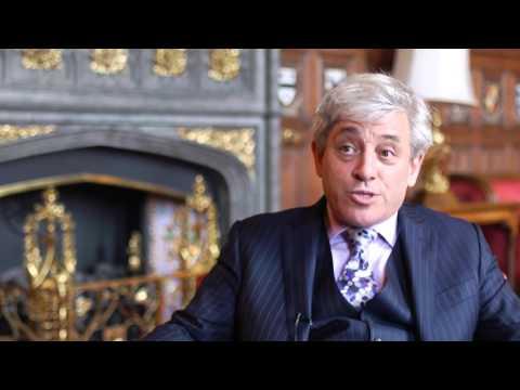 Interview - Rt Hon John Bercow MP