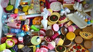 All My American Girl Doll Food! HD!