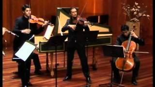 BACH, Johann Christian : Quintet for flute, oboe, violin, viola, cello and continuo. June 2012.