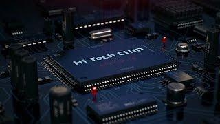 Hi-Tech CHIP Intro Template - After Effect Hi-Tech Futuristic
