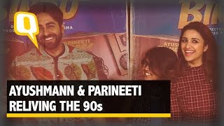 Reliving the 90s Indian TV Shows with Ayushmann & Parineeti