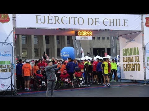 Corrida Glorias Del Ejercito 2017 (Race Glorias of the Army) Chile