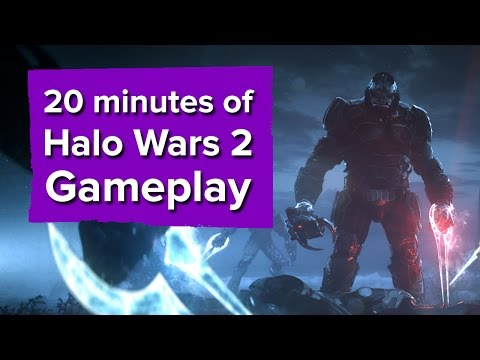 20 minutes of Halo Wars 2 Gameplay (Campaign)