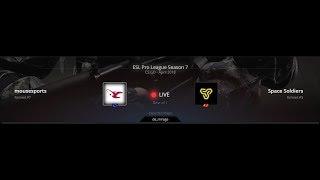 CS:GO LIVE || mousesports vs Space Soldiers || BO1 || ESL Pro League Season 7