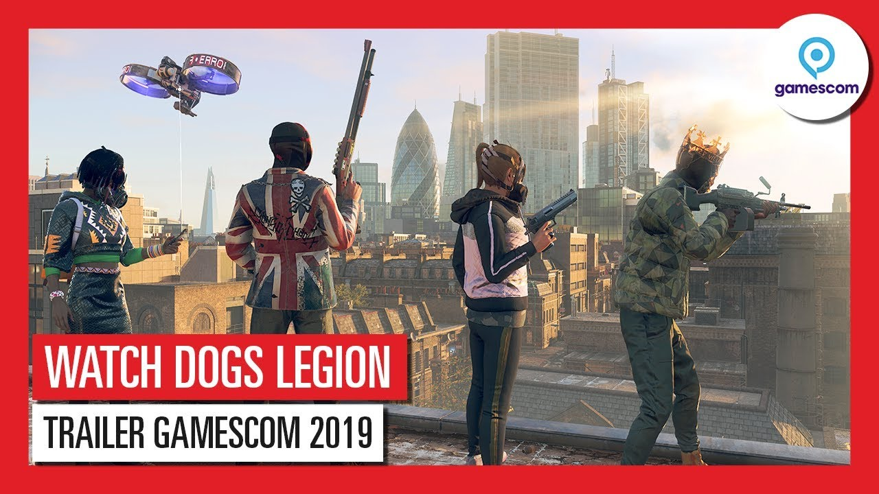 WATCH DOGS LEGION - GAMESCOM 2019 - Incarnez tous les personnages : explicationsVF HD