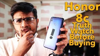 Honor 8C Review | Acha Or Bura Sab Kuch !!