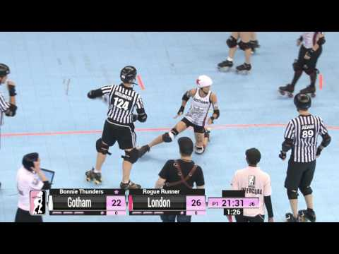 D1 Game 9: London Rollergirls v Gotham Girls Roller Derby