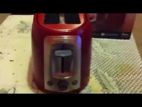 Black & Decker toaster from Walmart