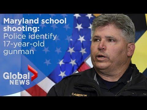 Maryland school shooting: Gunman identified as Austin Wyatt Rollins