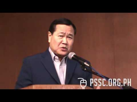 West Philippine Sea Lecture by Senior Assoc. Justice Antonio Carpio (PART ONE)