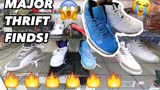 WHO DONATED ALL THESE SNEAKERS!!? TRIP TO THE THRIFT!!