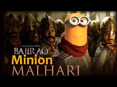 Minions Malhari Funny Remix | Bajirao Mastani | Minions Funny