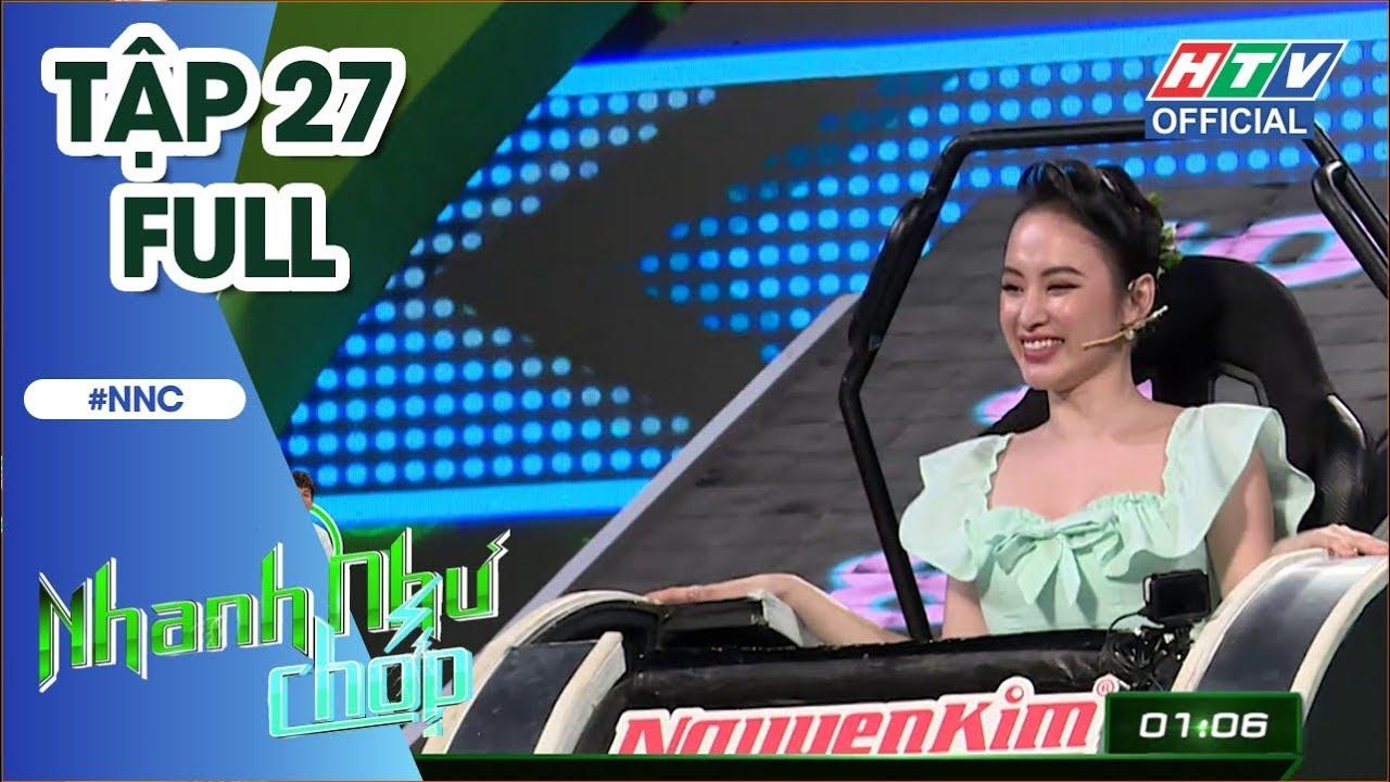 HTV NHANH NHƯ CHỚP   PewPew, Angela Phương Trinh, Thúy Ngân, Anh Tú, Tân trề, Phương Hằng   NNC #27