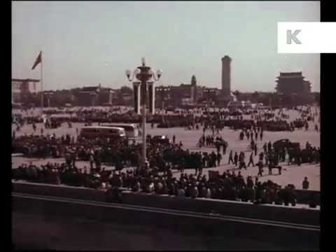 1966 China, Beijing, Peking, Tiananmen Square