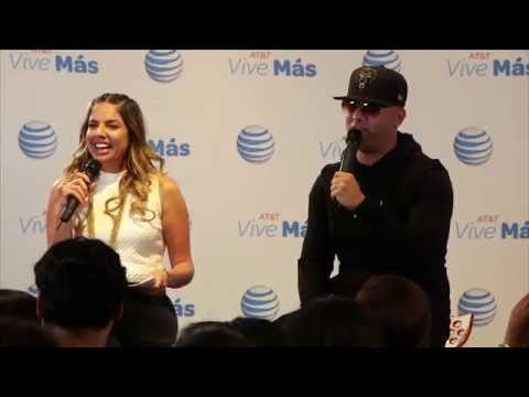 AT&T Google Hangout with Wisin (Los Angeles)