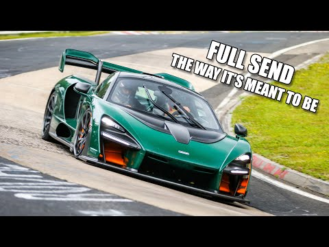McLaren Senna FULL SEND on the Nürburgring | Onboard