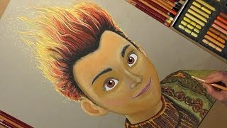 Drawing Rollan from Snow Queen 3: Fire and Ice.(This Speed Drawing video shows How to Draw Rollan Cartoon Character from Snow Queen 3: Fire and Ice. Drawing Soft Pastel and other Art Materials., 2017-01-27T14:46:38.000Z)