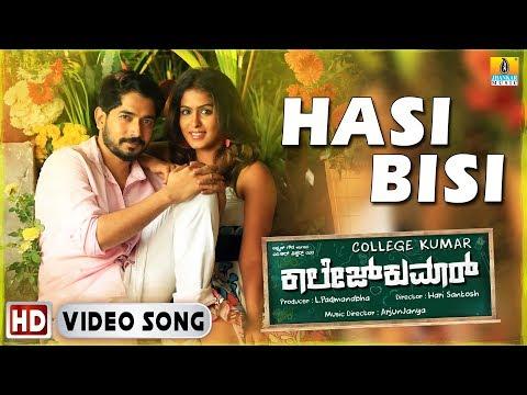 Hasi Bisi - College Kumar | HD Video Song | Vikki Varun, Samyuktha Hegde | Hari Santosh