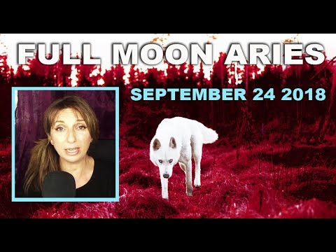 Full Moon September 2018 ~ Lone Wolf by Darkstar Astrology