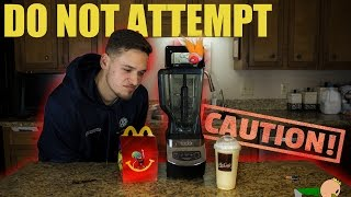 MCDONALD'S HAPPY MEAL MILKSHAKE (Blender Boys episode: 1) WARNING: Vomit