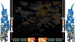 Atari Vault: Gameplay - Asteroids Deluxe (PC HD)
