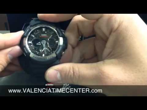f8bf6fed1b Casio G-Shock GA200-1A review by Valencia Time Center - YouTube