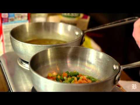 Dorm Room Chef: Vegan Saffron Risotto Primavera