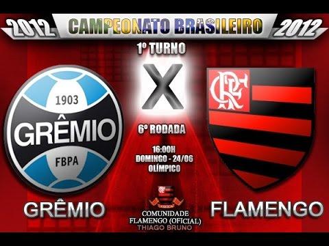 Transmissão: Assistir Flamengo x Grêmio ao vivo 6/9/2014 online grátis