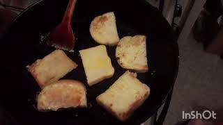 #Накарантине // учимся готовить яйцо пашот на сковороде