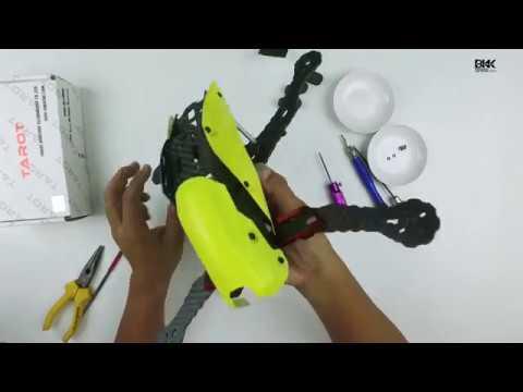 วิธีประกอบเฟรมทาลอท   TAROT FRAME   ประกอบโดรน by bkktopview