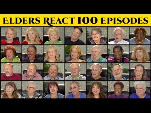 Thumbnail: ELDERS REACT TO 100 EPISODES OF ELDERS REACT